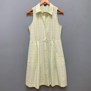 Theory sleeveless shirt dress